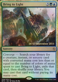 Bring to Light - Prerelease
