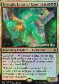 Omnath, Locus of Rage - Prerelease Promos