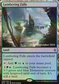 Lumbering Falls - Prerelease Promos
