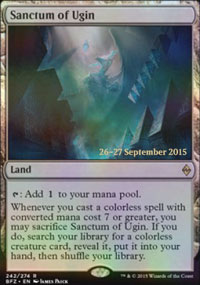 Sanctum of Ugin - Prerelease