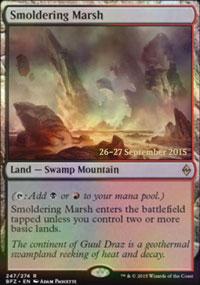 Smoldering Marsh - Prerelease Promos