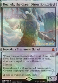 Kozilek, the Great Distortion - Prerelease