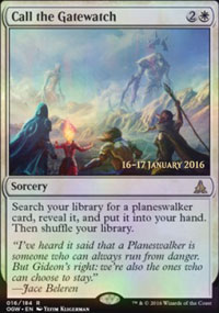 Call the Gatewatch - Prerelease