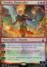 Chandra, Flamecaller - Prerelease