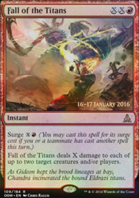 Fall of the Titans - Prerelease