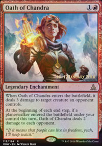 Oath of Chandra - Prerelease