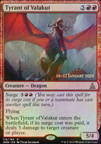 Tyrant of Valakut - Prerelease
