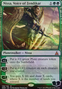 Nissa, Voice of Zendikar - Prerelease