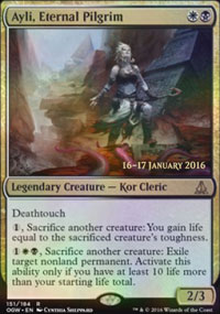 Ayli, Eternal Pilgrim - Prerelease
