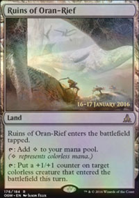 Ruins of Oran-Rief - Prerelease
