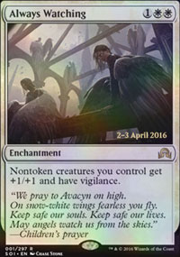 Always Watching - Prerelease