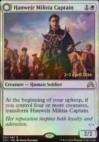 Hanweir Militia Captain - Prerelease