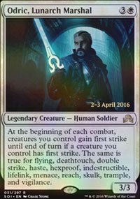 Odric, Lunarch Marshal - Prerelease