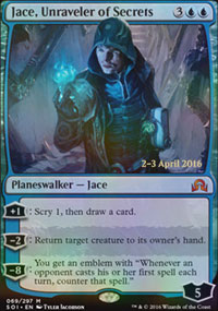 Jace, Unraveler of Secrets - Prerelease