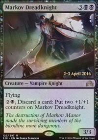 Markov Dreadknight - Prerelease
