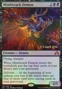 Mindwrack Demon - Prerelease