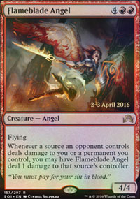 Flameblade Angel - Prerelease