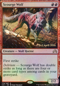 Scourge Wolf - Prerelease Promos