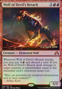 Wolf of Devil's Breach - Prerelease