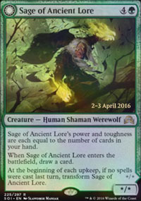 Sage of Ancient Lore - Prerelease