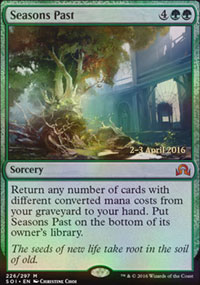 Seasons Past - Prerelease