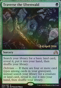 Traverse the Ulvenwald - Prerelease