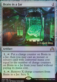 Brain in a Jar - Prerelease