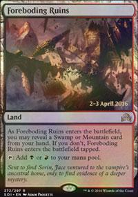 Foreboding Ruins - Prerelease Promos