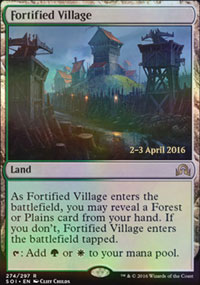 Fortified Village - Prerelease