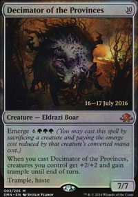 Decimator of the Provinces - Prerelease
