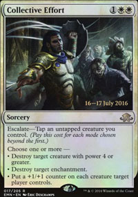 Collective Effort - Prerelease