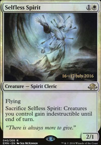 Selfless Spirit - Prerelease