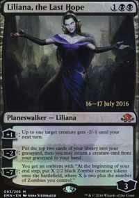 Liliana, the Last Hope - Prerelease