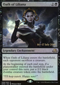 Oath of Liliana - Prerelease