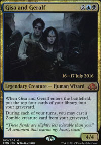Gisa and Geralf - Prerelease