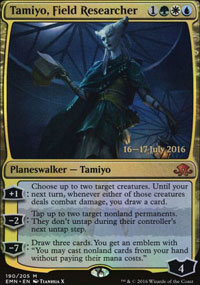 Tamiyo, Field Researcher - Prerelease