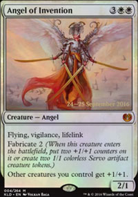 Angel of Invention - Prerelease