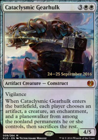 Cataclysmic Gearhulk - Prerelease