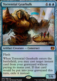 Torrential Gearhulk - Prerelease