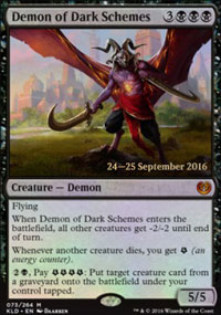 Demon of Dark Schemes - Prerelease