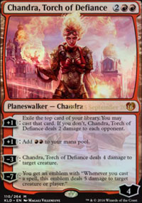 Chandra, Torch of Defiance - Prerelease