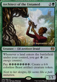 Architect of the Untamed - Prerelease