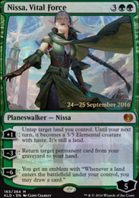 Nissa, Vital Force - Prerelease