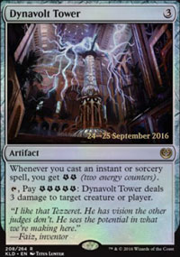 Dynavolt Tower - Prerelease