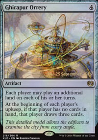 Ghirapur Orrery - Prerelease Promos