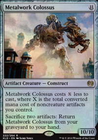 Metalwork Colossus - Prerelease