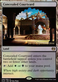 Concealed Courtyard - Prerelease Promos