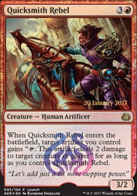 Quicksmith Rebel - Prerelease Promos