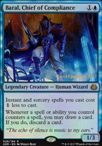 Baral, Chief of Compliance - Prerelease