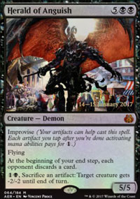 Herald of Anguish - Prerelease